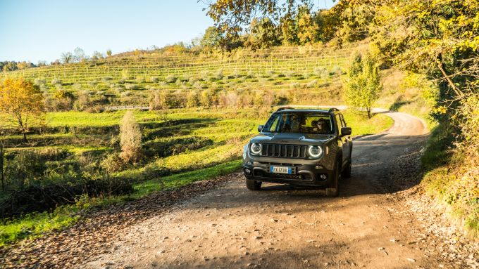 Jeep Renegade Trailhawk offroad