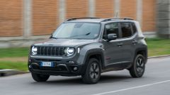 Jeep Renegade Trailhawk vista 3/4 anteriore