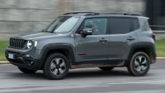 Jeep Renegade Trailhawk vista laterale