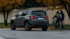 Jeep Renegade Trailhawk vista posteriore