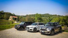 Jeep Renegade Trailhawk vs Audi Q2 vs Mini Countryman, la comparativa