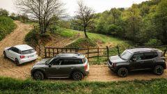 Jeep Renegade Trailhawk vs Audi Q2 vs Mini Countryman, le abbiamo portate anche offroad