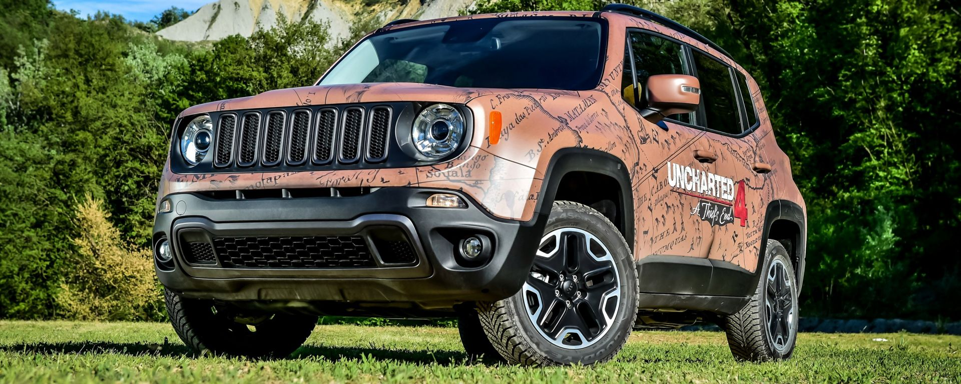 Garage Italia Customs Jeep Renegade Uncharted Edition