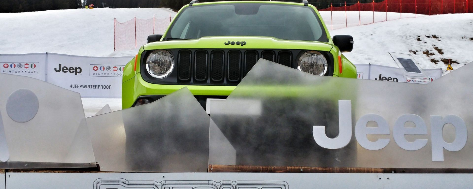 Jeep Renegade Upland, debutto al Jeep Winterproof Tour 2017