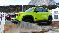 Jeep Renegade Upland, ha il paraurti della Trailhaw