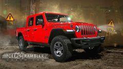 Jeep Scrambler, il rendering