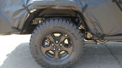 Jeep Scrambler pick up: le foto spia della Sport e della Rubicon - Immagine: 14