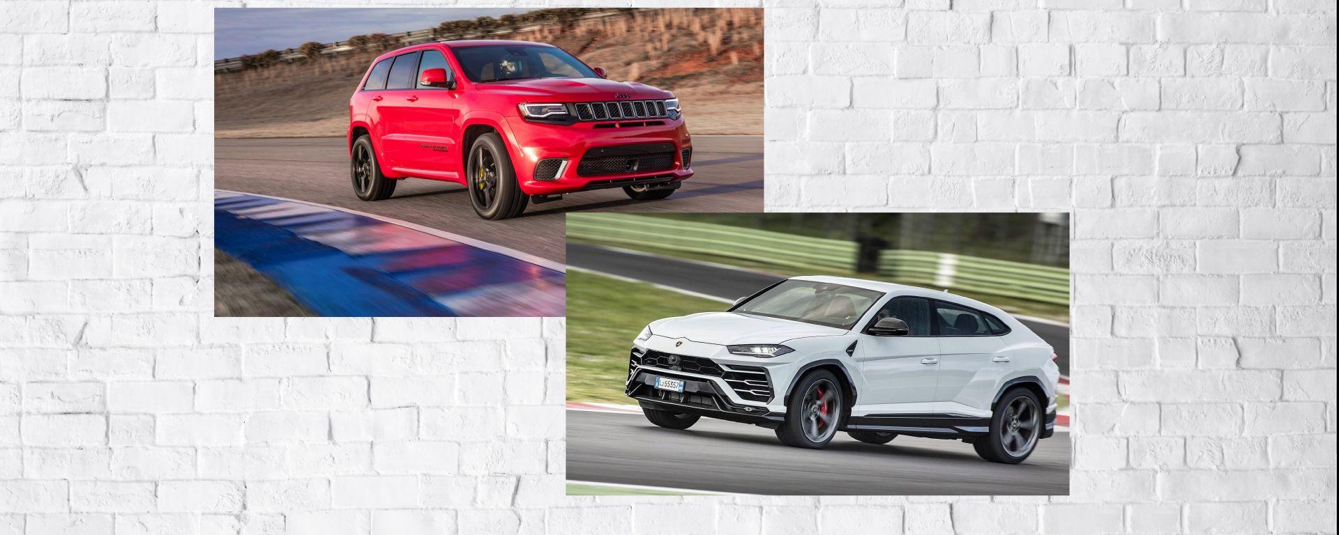 Jeep Trackhawk vs Lamborghini Urus