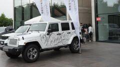 Jeep: una Wrangler Unlimited tatuata all'Italian Tattoo Artists 2016 - Immagine: 4