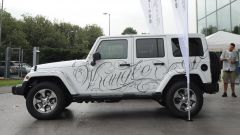 Jeep: una Wrangler Unlimited tatuata all'Italian Tattoo Artists 2016 - Immagine: 1