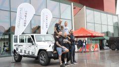 Jeep: una Wrangler Unlimited tatuata all'Italian Tattoo Artists 2016 - Immagine: 12