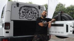 Jeep: una Wrangler Unlimited tatuata all'Italian Tattoo Artists 2016 - Immagine: 15
