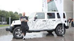Jeep: una Wrangler Unlimited tatuata all'Italian Tattoo Artists 2016 - Immagine: 17
