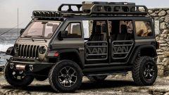Jeep Vangler, il sogno di una monovolume su base Wrangler - Immagine: 2