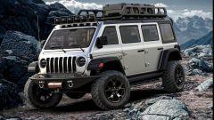 Jeep Vangler, il sogno di una monovolume su base Wrangler - Immagine: 1