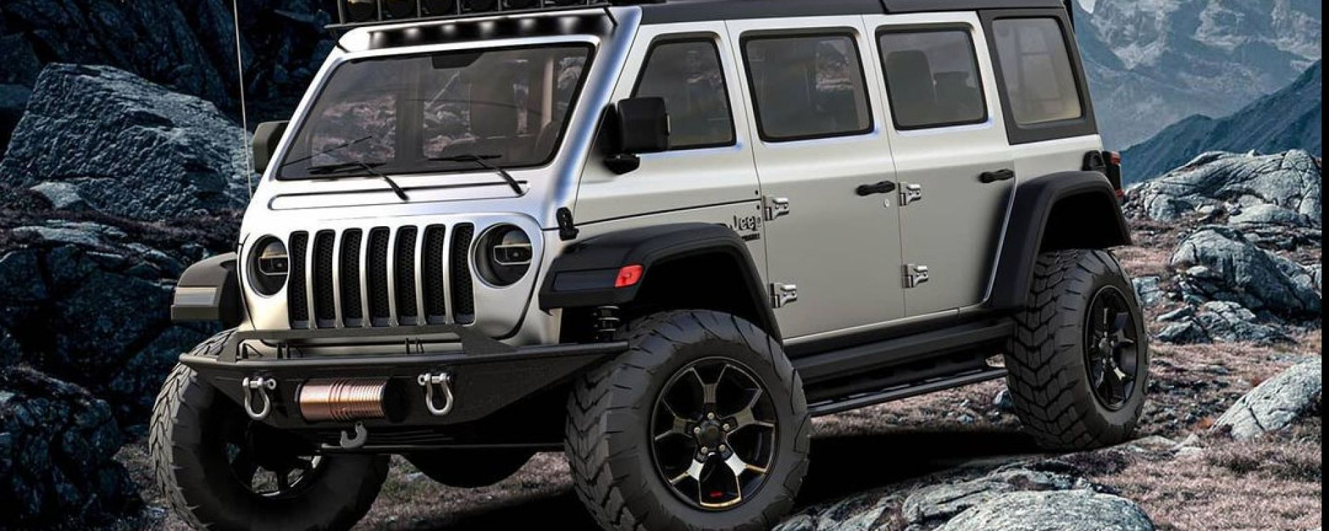 Jeep Vangler, il sogno di una monovolume su base Wrangler