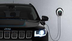 Jeep verso l'elettrificazione: la Compass collegata alla wallbox