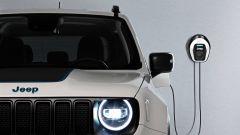 Jeep verso l'elettrificazione: la Renegade al pieno di energia