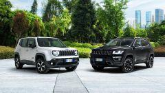Jeep verso l'elettrificazione: Renegade 4xe e Compass 4xe