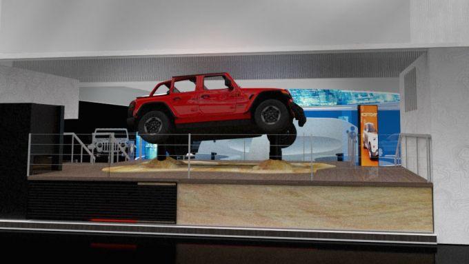 Jeep Virtual Reality, al CES l'offroad estremo è senza rischio