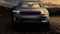 Jeep Wagoneer 2020: il rendering del frontale