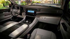 Jeep Wagoneer 2021, interni: la plancia e l'abitacolo