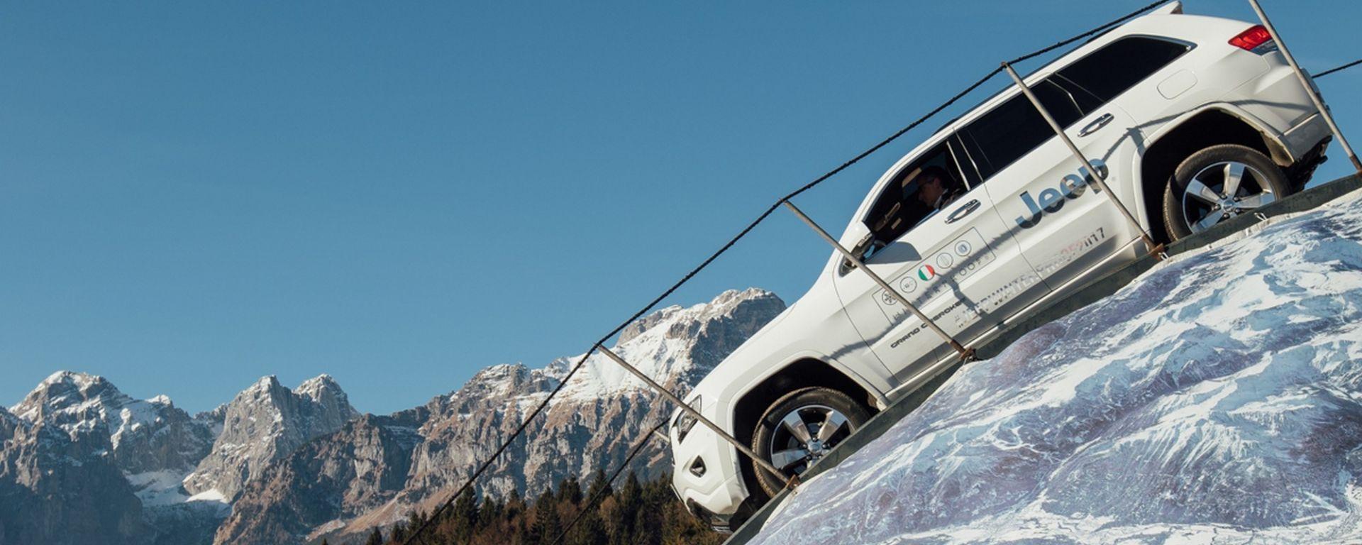 Jeep Winterproof Tour: con la gamma Jeep ai Deejay Xmasters di Pila