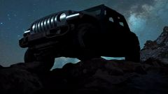 Jeep Wranger electric, primo teaser