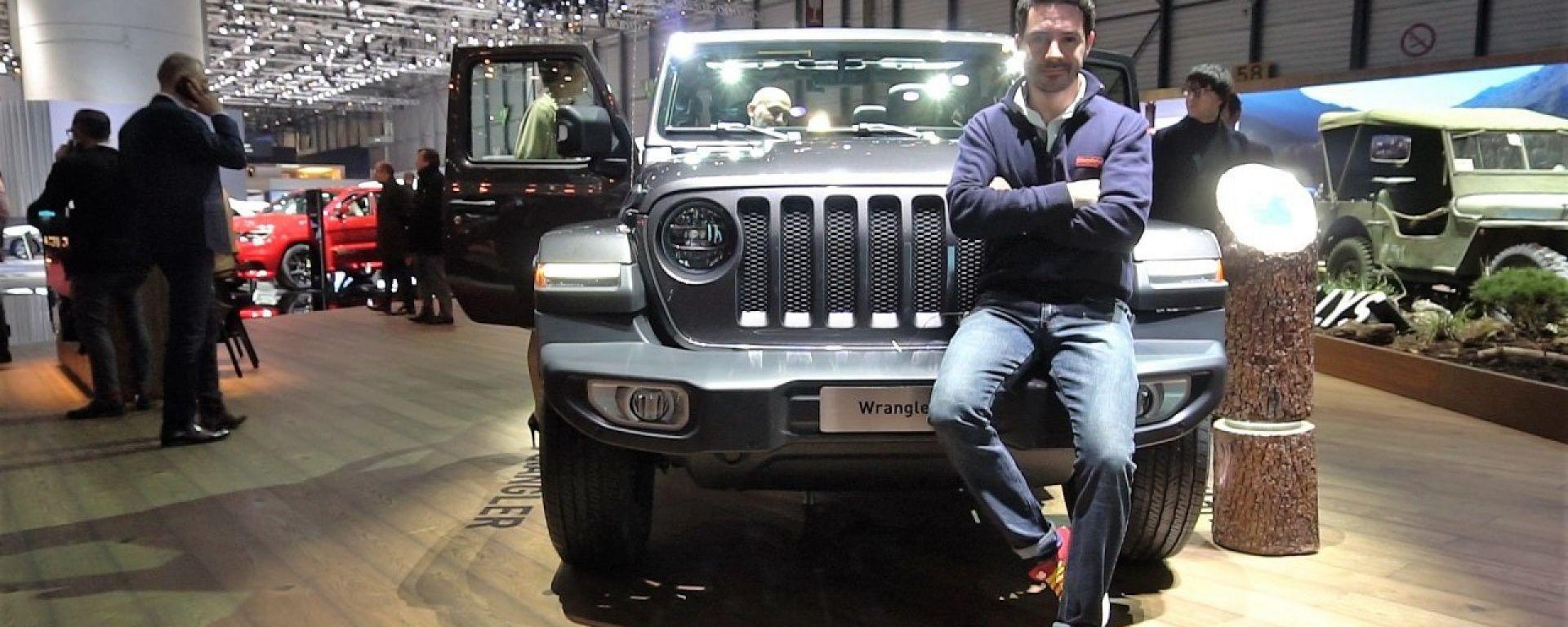 Nuova Jeep Wrangler 2018: in video dal Salone di Ginevra