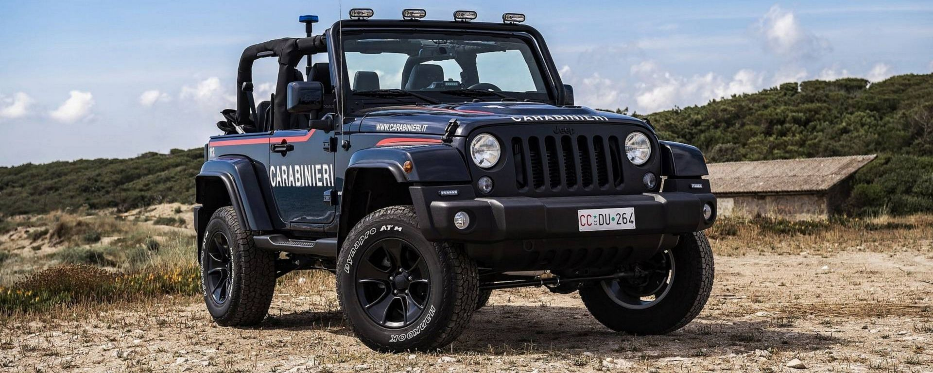 Jeep Wrangler: la nuova arma per i Carabinieri