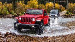 Jeep Wrangler 2018: sarà anche ibrida plug-in