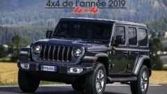Jeep Wrangler 2019: dettaglio 3/4 anteriore