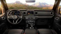 Jeep Wrangler 2021, gli interni