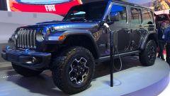 Jeep Wrangler 4xe, al CES 2020 ecco l'offroad formato plug-in hybrid