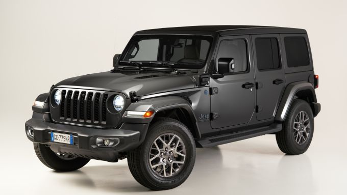 Jeep Wrangler 4xe First Edition 2021