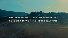 Jeep Wrangler 4xe, lo slogan del primo spot