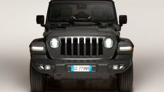 Jeep Wrangler 4xe plug-in: visuale frontale