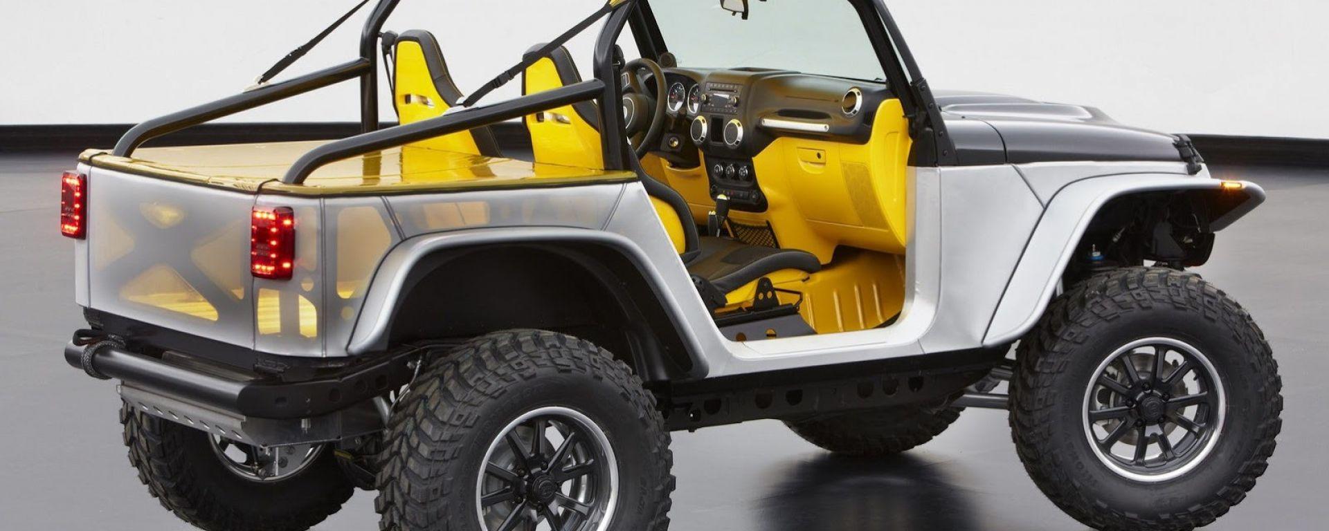 Jeep Wrangler: cinque concept al Moab 2013