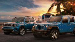 Jeep Wrangler e Renagade