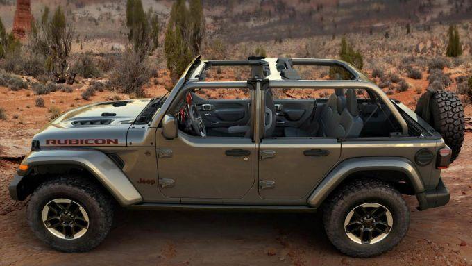 Jeep Wrangler half-door