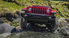 Jeep Wrangler, il frontale