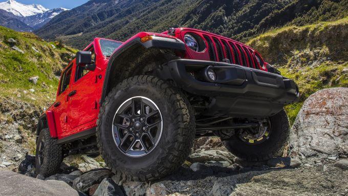 Jeep Wrangler: la 4xe ibrida in arrivo nel 2021?