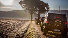 Jeep Wrangler offroad a Gradisca