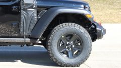 Jeep Wrangler PHEV: dettaglio della ruota anteriore
