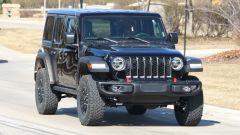 Jeep Wrangler PHEV: vista frontale
