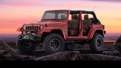 Jeep Wrangler Red Rock. vista 3/4 anteriore