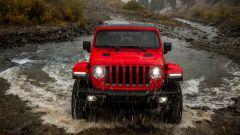 Jeep Wrangler Rubicon 2021, il frontale