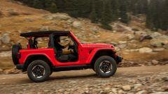 Jeep Wrangler Rubicon 2021, vista laterale