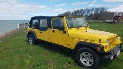 Jeep Wrangler Rubicon 4x4 Limousine 2006, 3/4 frontale lato destro