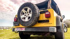 Jeep Wrangler Rubicon 4x4 Limousine 2006, il posteriore